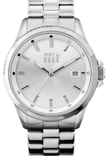 ELLE silver Fashion Ladies Watch EL900AC02LQBMY_1