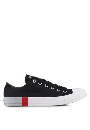 Converse black Chuck Taylor All Star Ox Sneakers CO302SH0SW6BMY_1