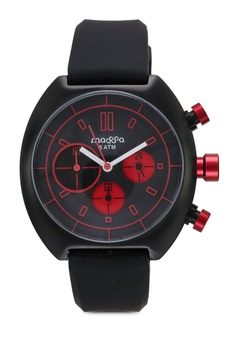 1ae723a40416 Massa Collections red Vigo Red Silicon Sporty Watch 240DEACFCED6E1GS 1
