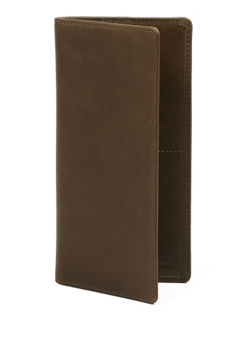 RABEANCO brown Bi-fold Long Wallet RA424AC59PXGHK_1