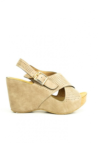 Cardam's Lifestyle beige Chanse Wedges B332ASH29A353CGS_1
