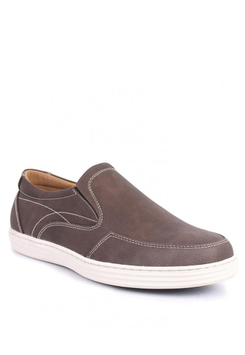 7soles brown Clyde Men's Sneakers 1EFD5SH42D3ACFGS_1