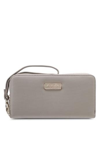 Unisa beige Textured Ladies Zip-Up Wallet UN821AC0SINSMY_1