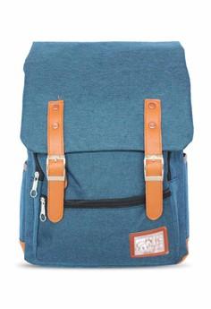 Denim Casual Backpack 838