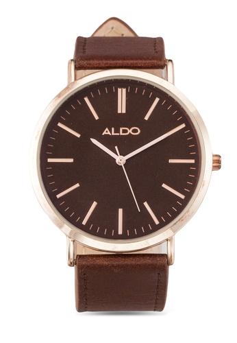 ALDO brown Acaywien Watch AL087AC0RPWMMY_1