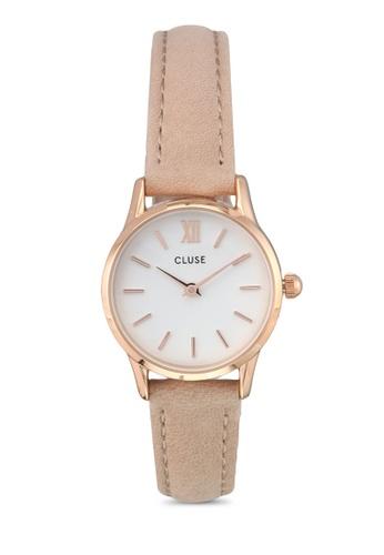 CLUSE gold La Vedette Rose Gold White/Hazelnut CL977AC0SA2EMY_1