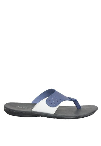 Dr. Kevin blue Dr. Kevin Men Sandals 97225 - Blue 4C6B2SH3452F2EGS_1