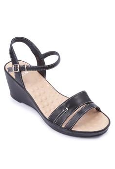Hilma Wedge Sandals