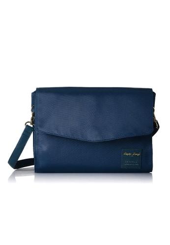 Anello blue [Legato Largo] Simple Nylon Water-Repellent Shoulder Bag-LT-F1132 NAVY BCC2FAC2867323GS_1