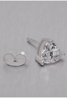 Kynda Heart K2759 Italy 925 Silver Earrings