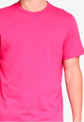 Buy On Shirt Online Singapore Pink Classic T Zalora Topman lJc3TFK1