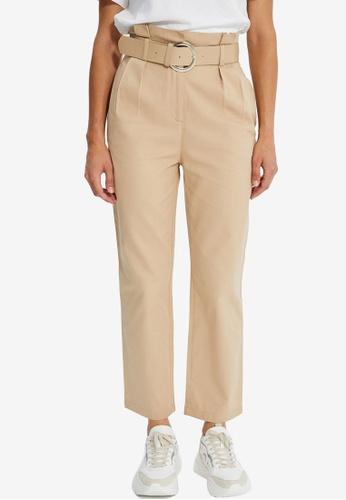 Trendyol beige Beige Pants 264CBAA3AC3FEAGS_1