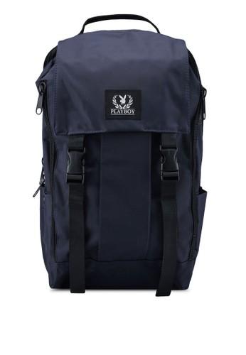 Playboy blue Playboy Laptop Backpack 23FF2AC38EC4EBGS_1