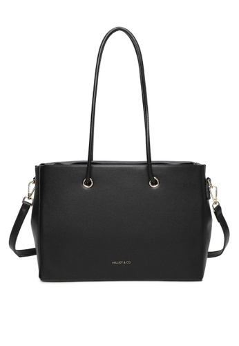 Milliot & Co. 黑色 Scarlett Totes Bag A7CBFAC96D9C24GS_1
