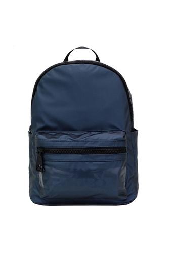 Playboy blue Classic Shape Logo Detail Backpack 4A3C5AC8CC481FGS_1