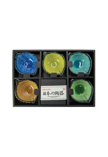Tsuru SET OF 5 Tsuru Japanese sauce dish set 89A8BHLEE1C8CBGS_1