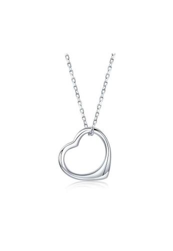 A-Excellence white Premium Elegant White Sliver Necklace 19C74AC0529A25GS_1