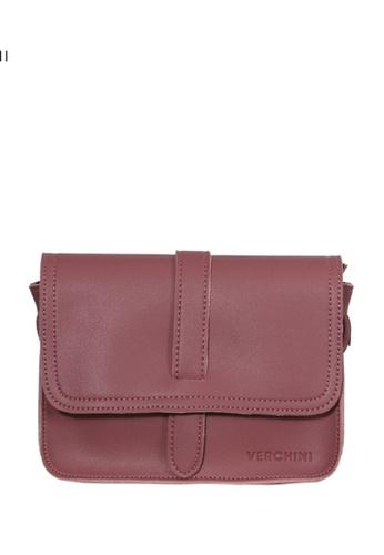Verchini brown Verchini Satchel Sling Bag C7699AC0234AE3GS_1