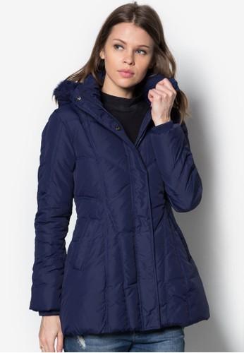 長版羽絨連帽外套, esprit童裝門市服飾, 夾克 & 大衣