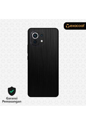 Exacoat Xiaomi Mi 11 Lite Skins Titanium Series - Titanium Black 42AB0ES02475B8GS_1