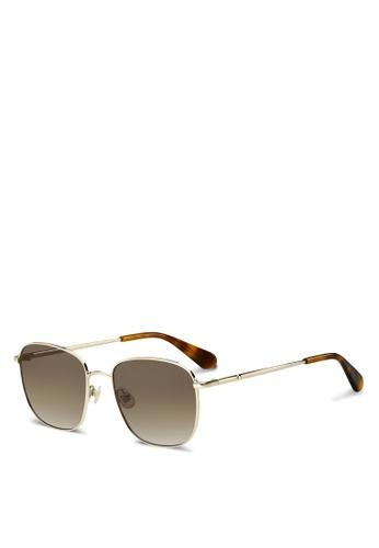 Kate Spade brown Kiyah/S Sunglasses 16857GL1043C70GS_1