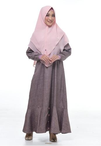 RABBANI pink Dress Muslim Hyuri 3DAAAAABEEC9B2GS_1