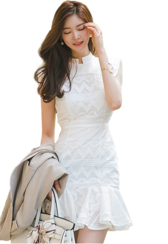 Sunnydaysweety white Lace Dress A070526-0W 5382EAA8D01EE7GS_1