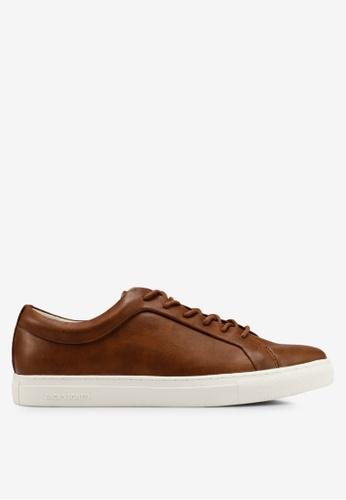 Jack & Jones brown Putnik Tan Sneakers 6A2B1SH7A28D21GS_1
