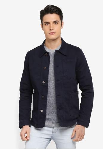 Selected Homme blue Tokyo 6115 D. Blue Denim Jacket A5952AA0D4A5D0GS_1