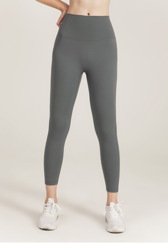 HAPPY FRIDAYS Nude Yoga Cropped Tights (No front crotch  line) DSG524 18A84AAA93C1F3GS_1