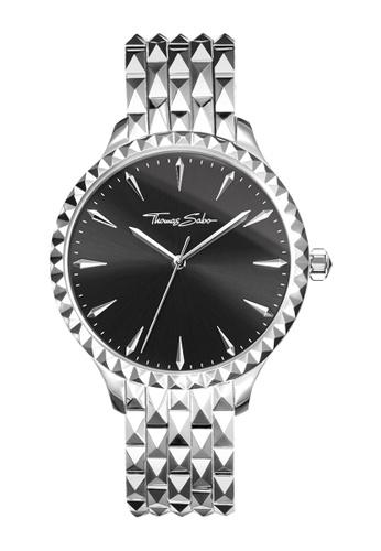 "THOMAS SABO silver Women's Watch ""REBEL AT HEART"" 08B71AC366A92EGS_1"