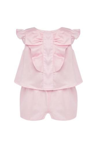 RAISING LITTLE pink Paulina Romper 665CFKAF8D2097GS_1