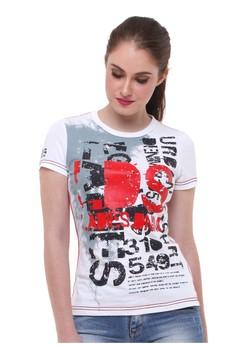 08b5a26898f LGS white LGS - Slim Fit - Kaos Wanita - Gambar Sablon - Putih  LG695AA09KPQID 1