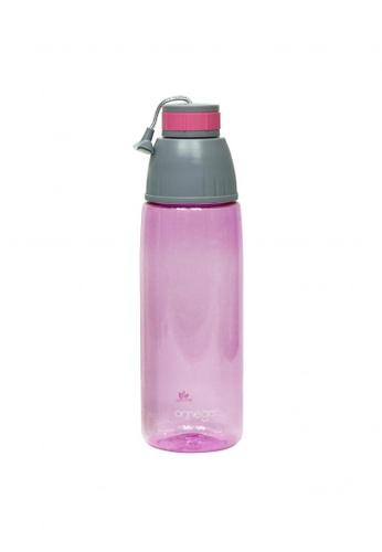 Omega Houseware pink Nixie 800ml Pink Tritan Sports Water Bottle 18E37AC7FFBF6EGS_1