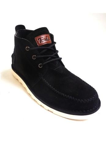 Toods Footwear black Toods Footwear Novo - Hitam TO932SH37KOOID_1