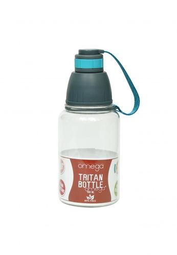 Omega Houseware blue Solei 900ml Blue Tritan Sports Water Bottle 90C70AC7FBEFC3GS_1
