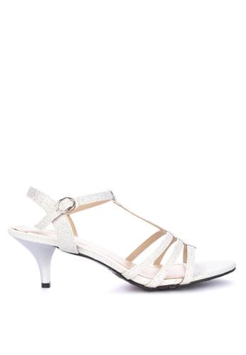 db5ea6f60f7 Shop Mnicole T-Strap High Heels Online on ZALORA Philippines