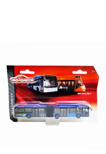Majorette Majorette Transporter Man Lions City Bus G - Blue 98AE2TH6DDCE9FGS_1