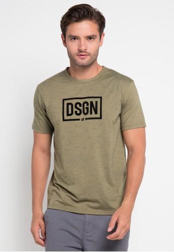 D&F green T-Shirt Dsgn DF100AA0URA7ID_1