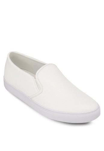 仿皮暗紋懶人鞋, 鞋, zalora 順豐懶人鞋