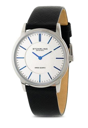 Newbesprit 品牌erry 經典皮革圓錶, 錶類, 皮革錶帶