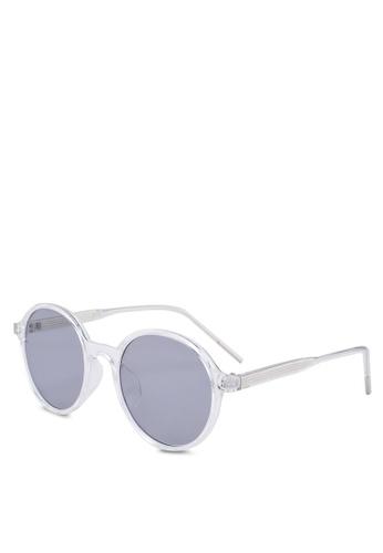 56cd6069f Shop Fidelio Garage Oval Sunglasses Online on ZALORA Philippines