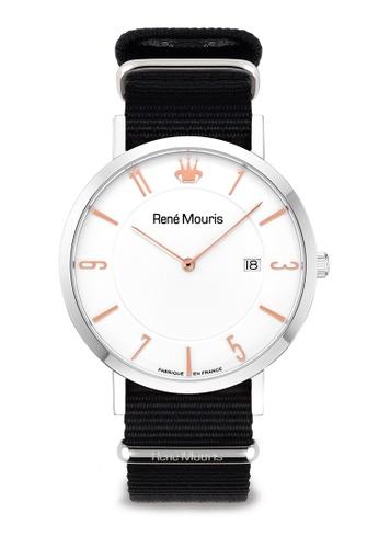 René Mouris black L'Emporter - 41mm Classic Quartz Watch ED341ACBB16DD9GS_1