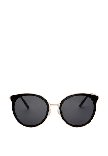 Carin black and multi and gold Madeleine C1 Sunglasses 8EE70GLA74942BGS_1