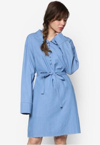 丹寧襯衫式洋裝, 服飾, esprit home 台灣洋裝