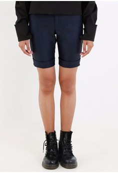 [PRE-ORDER] Olivier Cuffed City Shorts