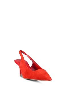 f3368b3bcd5 31% OFF MANGO Leather Heels Php 2