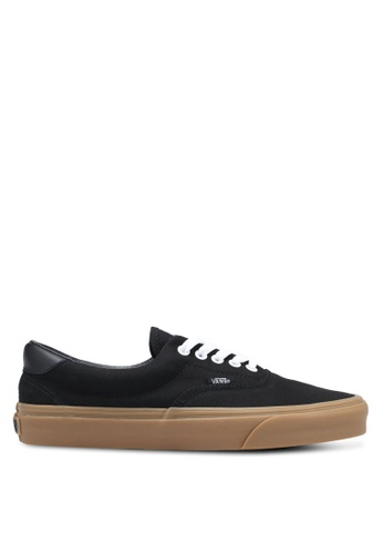VANS black Era 59 Canvas Gum Sneakers VA142SH0SKVBMY_1