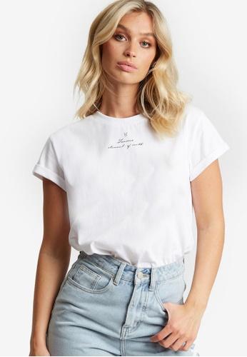 The Fated white Taurus T-Shirt C3E51AAC424381GS_1