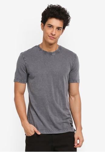 Only & Sons 黑色 短袖素色T恤 DE73AAA13420D0GS_1